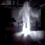 cena de filmagem fantasmagorica efeito de filmagem fantasmagorica filmagem de espiritos