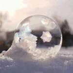 bolha congelada fotografia america do norte