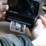camera polaroid modificada para imprimir imagens
